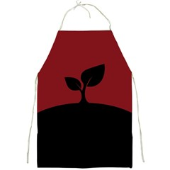Plant Last Plant Red Nature Last Full Print Aprons