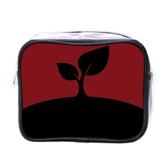 Plant Last Plant Red Nature Last Mini Toiletries Bags
