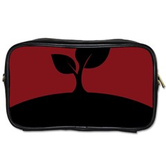 Plant Last Plant Red Nature Last Toiletries Bags
