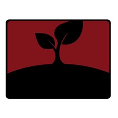 Plant Last Plant Red Nature Last Fleece Blanket (small)