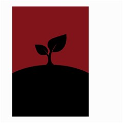 Plant Last Plant Red Nature Last Small Garden Flag (two Sides)