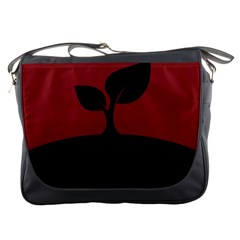 Plant Last Plant Red Nature Last Messenger Bags