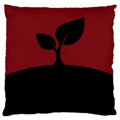 Plant Last Plant Red Nature Last Large Cushion Case (one Side)