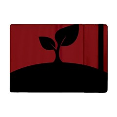 Plant Last Plant Red Nature Last Apple iPad Mini Flip Case