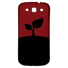 Plant Last Plant Red Nature Last Samsung Galaxy S3 S Iii Classic Hardshell Back Case