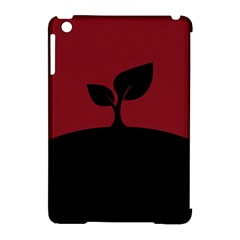 Plant Last Plant Red Nature Last Apple Ipad Mini Hardshell Case (compatible With Smart Cover)