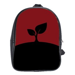 Plant Last Plant Red Nature Last School Bags (xl)
