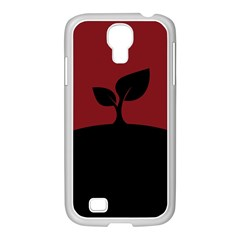 Plant Last Plant Red Nature Last Samsung Galaxy S4 I9500/ I9505 Case (white)