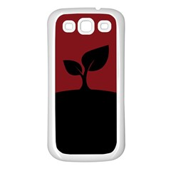 Plant Last Plant Red Nature Last Samsung Galaxy S3 Back Case (white)
