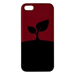 Plant Last Plant Red Nature Last Iphone 5s/ Se Premium Hardshell Case