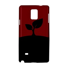 Plant Last Plant Red Nature Last Samsung Galaxy Note 4 Hardshell Case