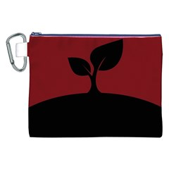 Plant Last Plant Red Nature Last Canvas Cosmetic Bag (XXL)