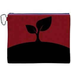 Plant Last Plant Red Nature Last Canvas Cosmetic Bag (xxxl)