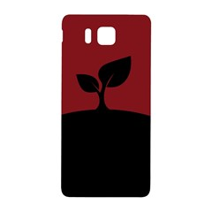 Plant Last Plant Red Nature Last Samsung Galaxy Alpha Hardshell Back Case