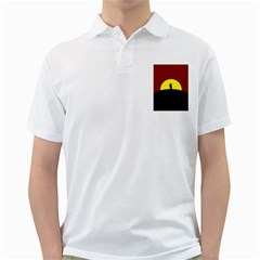 Samurai Warrior Japanese Sword Golf Shirts