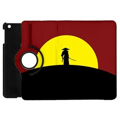 Samurai Warrior Japanese Sword Apple Ipad Mini Flip 360 Case