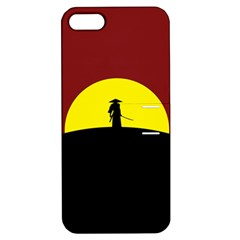 Samurai Warrior Japanese Sword Apple Iphone 5 Hardshell Case With Stand
