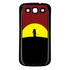 Samurai Warrior Japanese Sword Samsung Galaxy S3 Back Case (black)