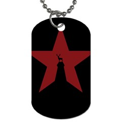 Buck Dear Animal Character Nature Dog Tag (Two Sides)