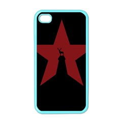 Buck Dear Animal Character Nature Apple iPhone 4 Case (Color)