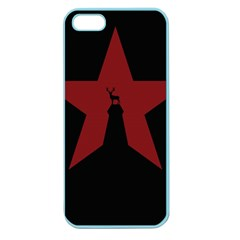 Buck Dear Animal Character Nature Apple Seamless Iphone 5 Case (color)