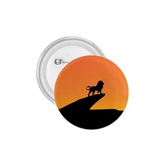 Lion Sunset Wildlife Animals King 1 75  Buttons