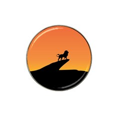 Lion Sunset Wildlife Animals King Hat Clip Ball Marker (10 Pack)