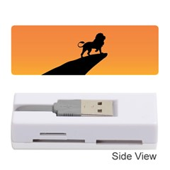 Lion Sunset Wildlife Animals King Memory Card Reader (stick)