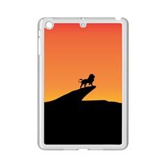 Lion Sunset Wildlife Animals King Ipad Mini 2 Enamel Coated Cases
