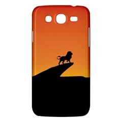 Lion Sunset Wildlife Animals King Samsung Galaxy Mega 5 8 I9152 Hardshell Case