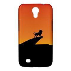 Lion Sunset Wildlife Animals King Samsung Galaxy Mega 6 3  I9200 Hardshell Case