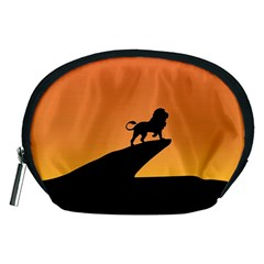 Lion Sunset Wildlife Animals King Accessory Pouches (medium)