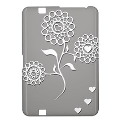 Flower Heart Plant Symbol Love Kindle Fire HD 8.9