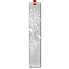 Flower Heart Plant Symbol Love Large Book Marks