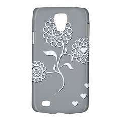 Flower Heart Plant Symbol Love Galaxy S4 Active