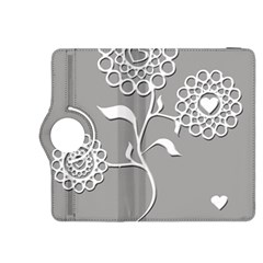 Flower Heart Plant Symbol Love Kindle Fire Hdx 8 9  Flip 360 Case