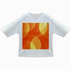 Abstract Orange Yellow Red Color Infant/Toddler T-Shirts
