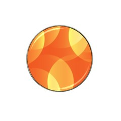 Abstract Orange Yellow Red Color Hat Clip Ball Marker