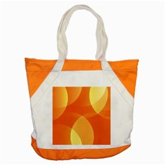 Abstract Orange Yellow Red Color Accent Tote Bag