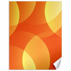 Abstract Orange Yellow Red Color Canvas 18  X 24