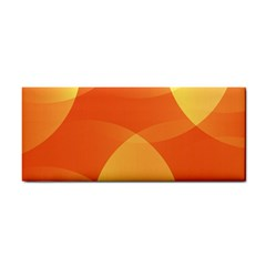 Abstract Orange Yellow Red Color Cosmetic Storage Cases