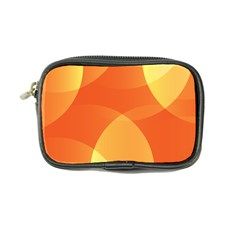 Abstract Orange Yellow Red Color Coin Purse