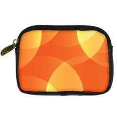 Abstract Orange Yellow Red Color Digital Camera Cases