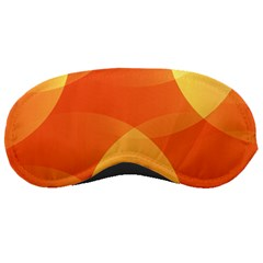 Abstract Orange Yellow Red Color Sleeping Masks