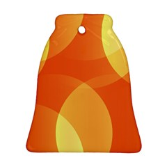 Abstract Orange Yellow Red Color Ornament (Bell)
