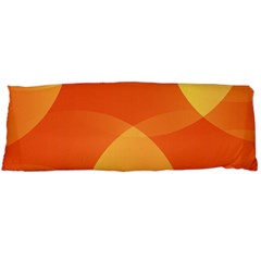 Abstract Orange Yellow Red Color Body Pillow Case (Dakimakura)