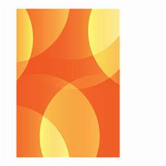 Abstract Orange Yellow Red Color Small Garden Flag (Two Sides)