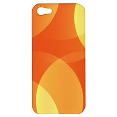 Abstract Orange Yellow Red Color Apple Iphone 5 Hardshell Case