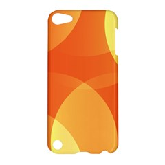 Abstract Orange Yellow Red Color Apple Ipod Touch 5 Hardshell Case