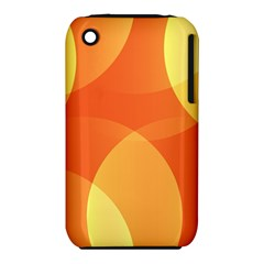 Abstract Orange Yellow Red Color iPhone 3S/3GS